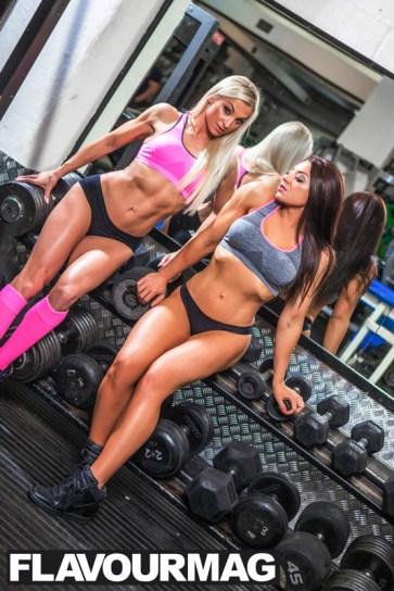 Emma Wray fitness model flavourmag 10