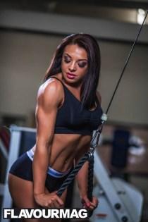 Emma Wray fitness model flavourmag 2