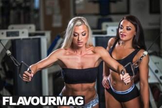 Emma Wray fitness model flavourmag 6