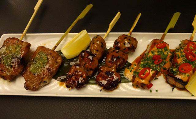 sticks n sushi main course