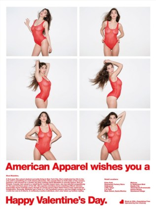 American Apparel BANNED adverts 71