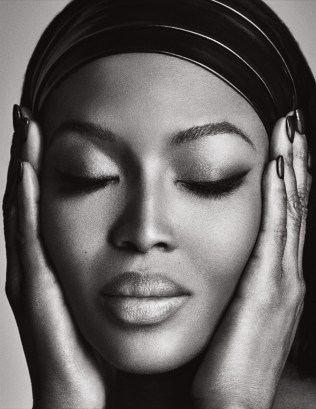 Naomi Campbell Naked in Lui Magazine 2