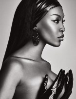Naomi Campbell Naked in Lui Magazine 8