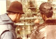 CNN Films: Fresh Dressed- B boys shopping for frames. New York City, circa 1983. Photograph Jamel Shabazz