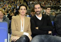 LONDON, ENGLAND - JANUARY 14: Jessica Lemarie and Robert Pires attend Orlando Magic vs Toronto Raptors NBA Global Game at The O2 Arena on January 14, 2016 in London, England. (Photo by David M. Benett/Dave Benett/Getty Images for NBA)