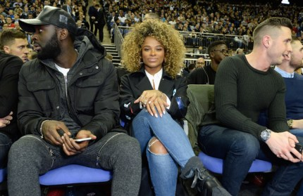 LONDON, ENGLAND - JANUARY 14: Fleur East attends Orlando Magic vs Toronto Raptors NBA Global Game at The O2 Arena on January 14, 2016 in London, England. (Photo by David M. Benett/Dave Benett/Getty Images for NBA)