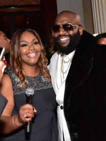 FAYETTEVILLE, GA - JANUARY 28: Rick Ross and his sister Twanda Roberts attends Rick Ross' 40th Birthday Celebration on January 28, 2016 in Fayetteville, Georgia. (Photo by Paras Griffin/Getty Images for The Vanity Group)