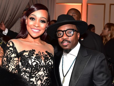 FAYETTEVILLE, GA - JANUARY 28: Monica Brown and Anthony Hamilton attends Rick Ross' 40th Birthday Celebration on January 28, 2016 in Fayetteville, Georgia. (Photo by Paras Griffin/Getty Images for The Vanity Group)