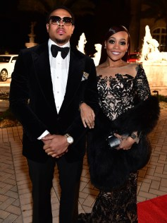 FAYETTEVILLE, GA - JANUARY 28: Shannon Brown and singer Monica attend Rick Ross 40th Birthday Celebration on January 28, 2016 in Fayetteville, Georgia. (Photo by Paras Griffin/Getty Images for The Vanity Group)