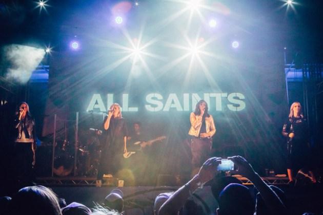 All Saints at Ibiza Rocks - Photo: Luke Dyson