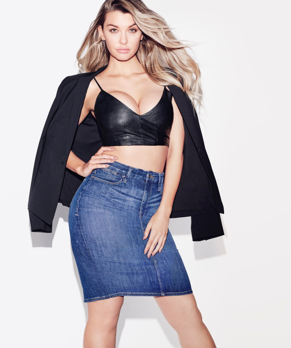 Good American Jeans Shorts Skirts Say Thank You To Khloe