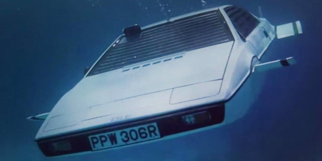 The Lotus Esprit in The Spy Who Loved Me
