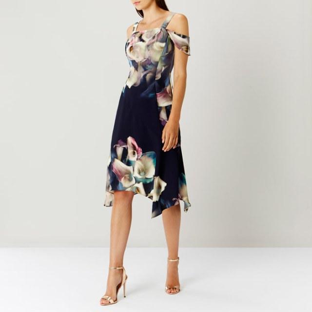 Lily Print Soft Shift Dress