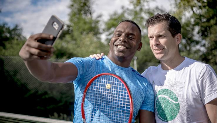 Tennis with TIm Henman