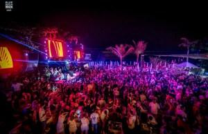 Burning Beach at Blue Marlin Ibiza UAE