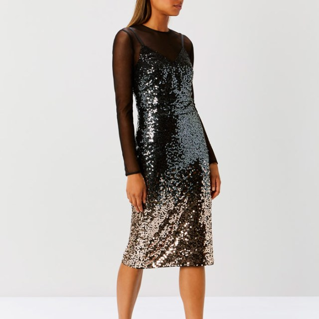 Gisella Ombre Sequin Dress