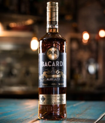 Major Lazer LIMITED EDITION Rum bottle