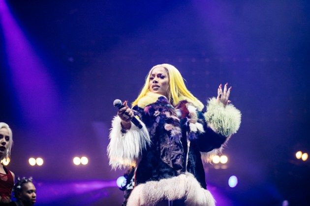 Stefflon Don performs at Spotify's Who We Be at Alexandra Palace 30.11.17 2