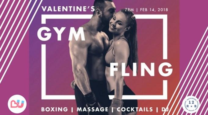 Valentines Gym Fling