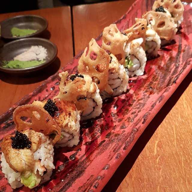 dragon sashimi
