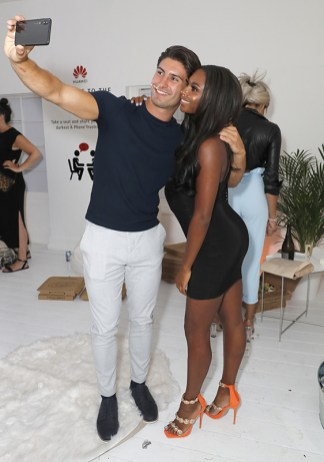 Frankie Foster (L) and Samira Mighty attend Huawei's 'A Phone' Break-Up Party on July 18, 2018 in London, England. (Photo by David M. Benett/Dave Benett/Getty Images for Huawei)