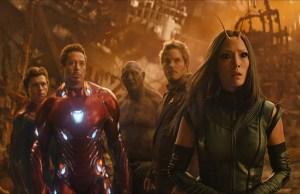 Avengers Infinity Wars on DVD