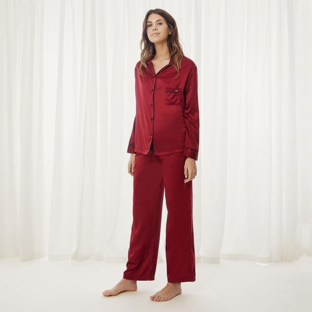 NEW Bluebella Claudia Cordovan Shirt & Trouser Set - Priced at £38.00NEW Bluebella Claudia Cordovan Shirt & Trouser Set