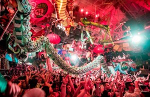 elrow christmas party London 2018