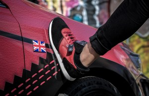 Lexus inspired trainers by Norman Walsh