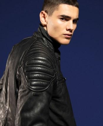 Hero Leather Racer Jacket £199.99
