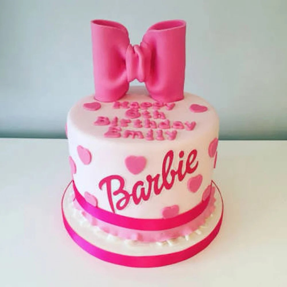 My Barbie Cake 2 Every Baby Girl Is Like A Doll For Their Parents
