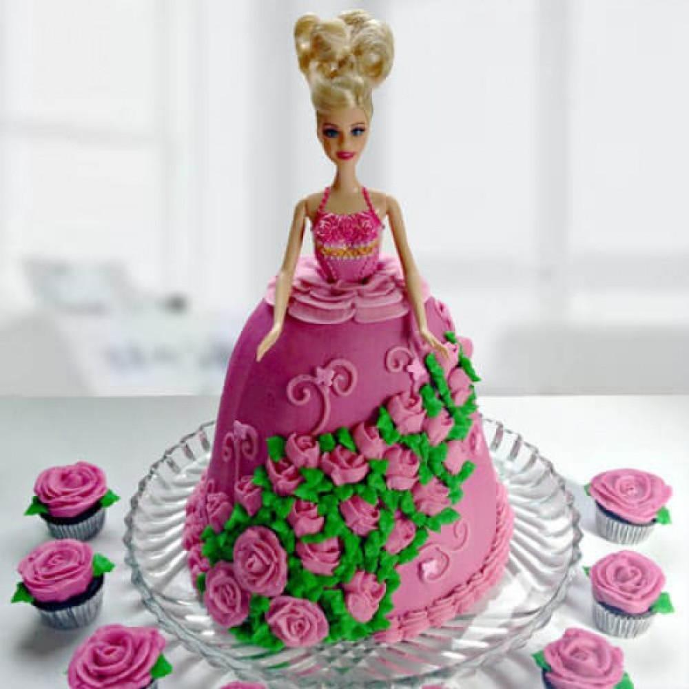Barbie Cake Photos Hd