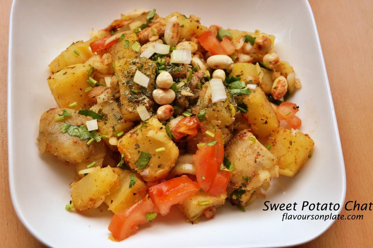 Sweet Potato Salad Recipe Indian