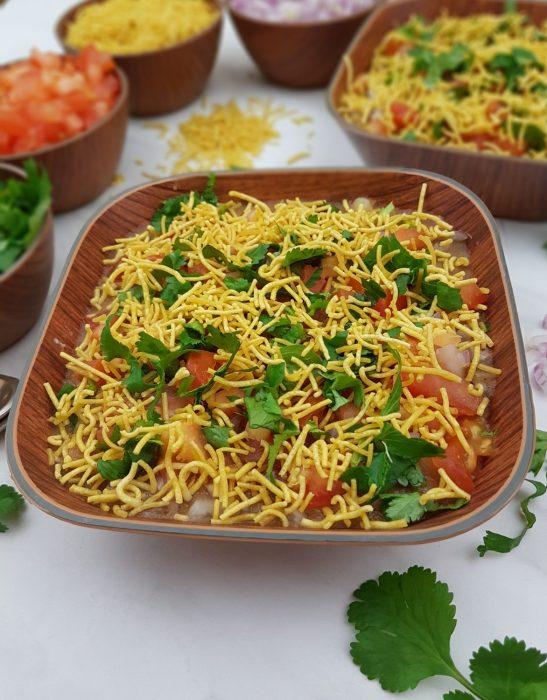 masala puri chaat image