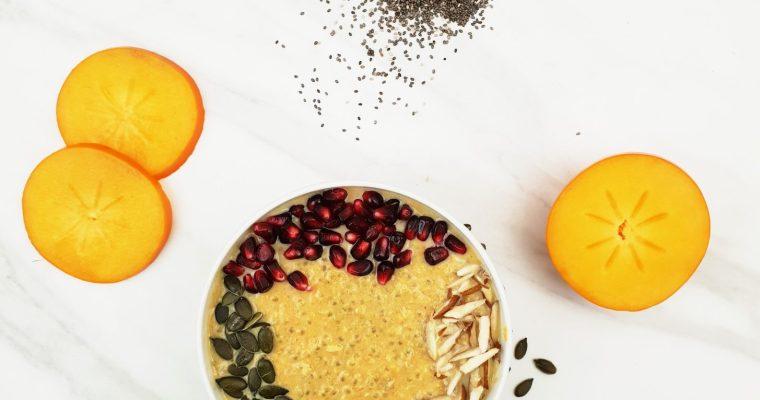 Warm Chia Porridge (Porridge recipe + Video)
