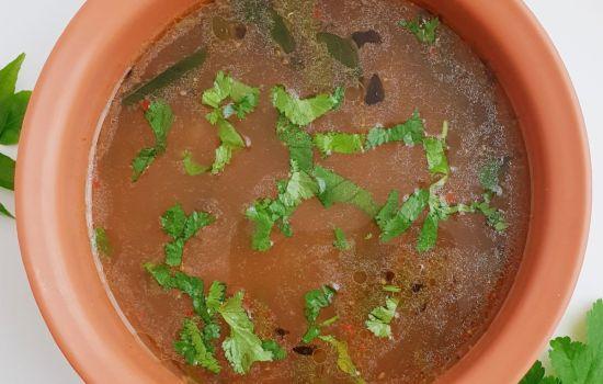 Dal Rasam (South Indian soup + Video)