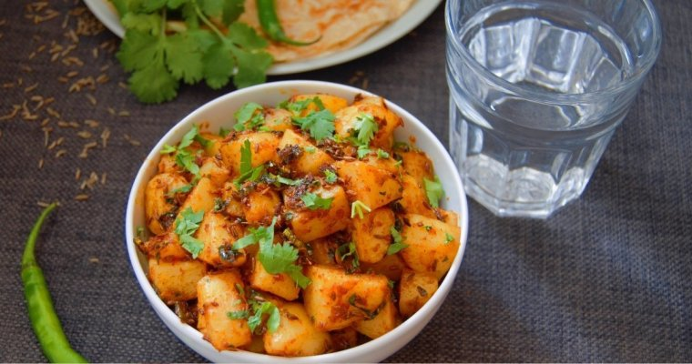 Jeera Aloo (Potato side dish + Video)