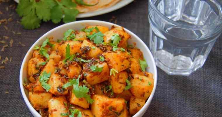 Jeera Aloo (Potato side dish + Video)