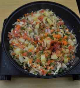 vegetable-kothu-parotta