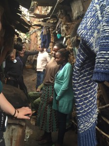our home visit in the slum