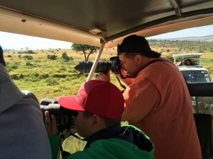 The last couple of days were spent on a safari in the Maasai Mara, a part of the Serengeti. (Darren's pictures are much better and will be added later.)