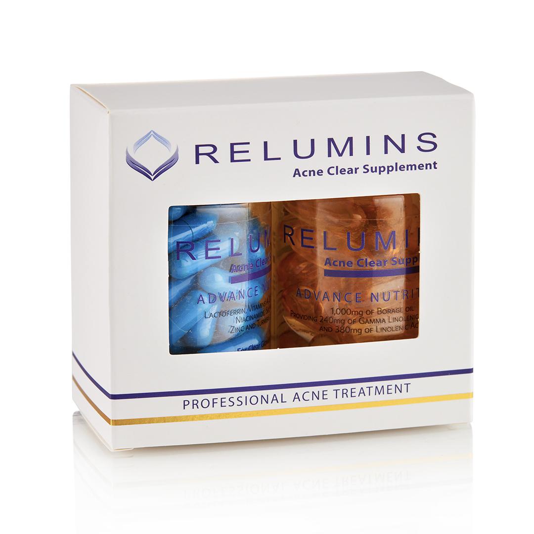 Relumins Oral Acne Treatment - Dermatologist Formula ...