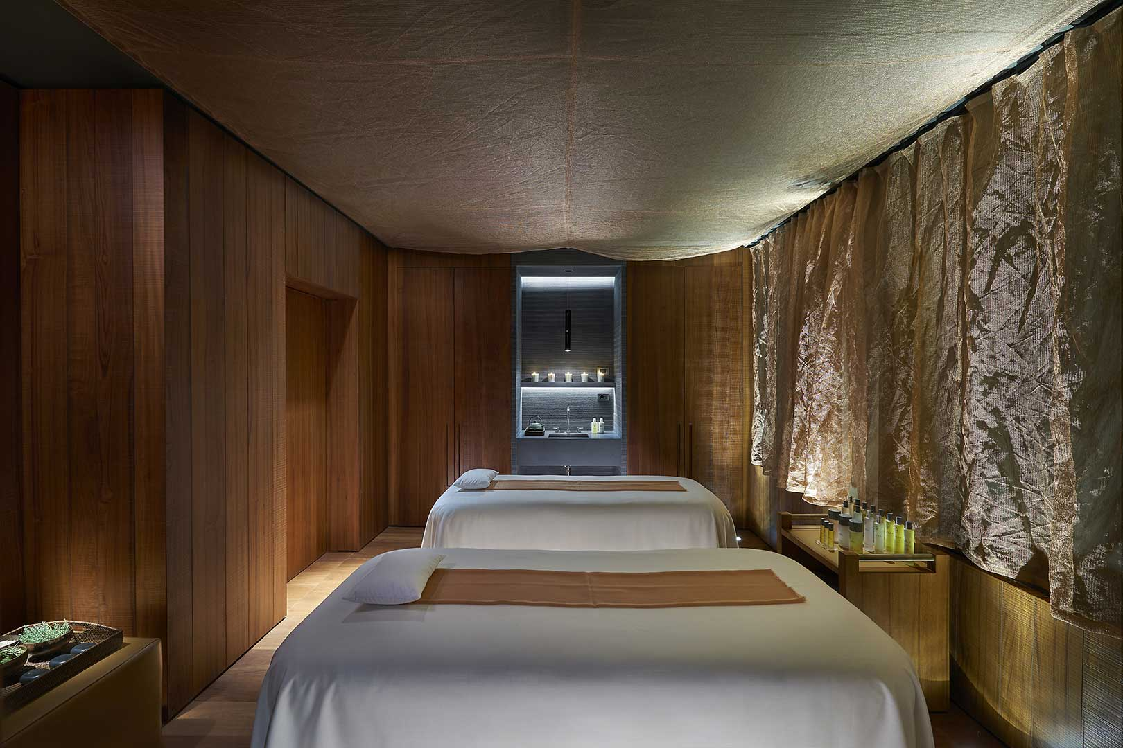 Oriental Spa Treatment Rooms
