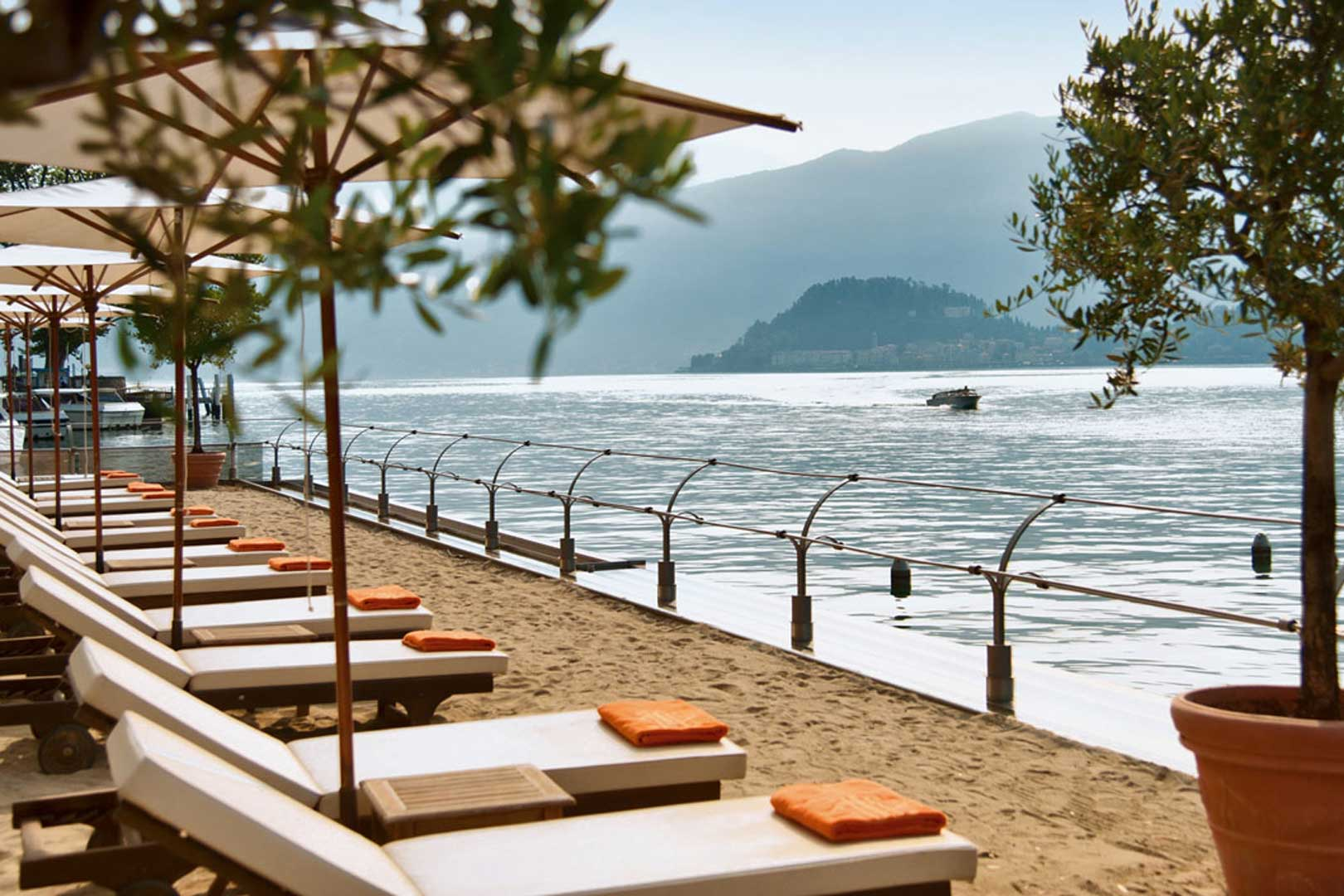The 5 most beautiful beach clubs of Lake Como  Flawless Milano