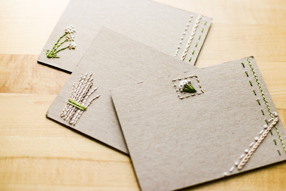 designsponge best of diy notecards and stationery  flax