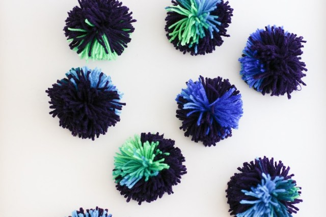 Repeat with each pom and you re done–over 8 large poms all at once or 14  medium poms. 51d63284498
