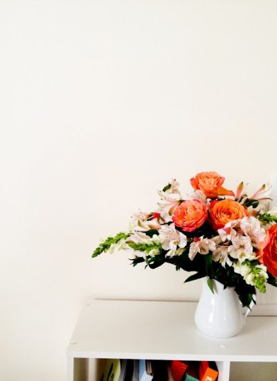 Friday Flowers: Grocery Store Arrangement, Roses