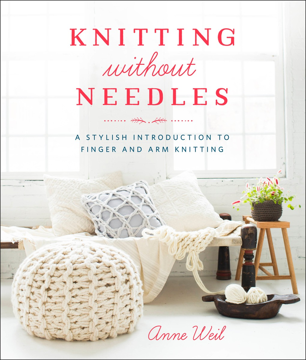 How To Make A Knitted Book Cover ~ Knitting without needles flax twine