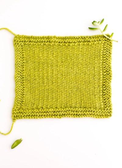 Knitting Stitch How To: Linen Stitch