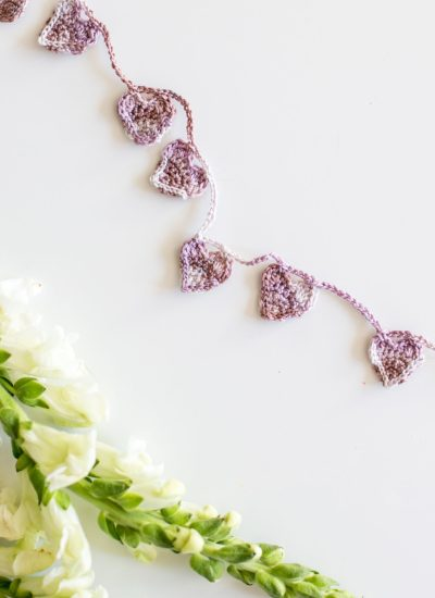 Crochet Heart Garland Tutorial